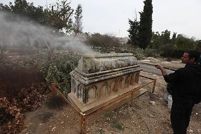 Kudüs'te Müslüman mezarlığına saldırı