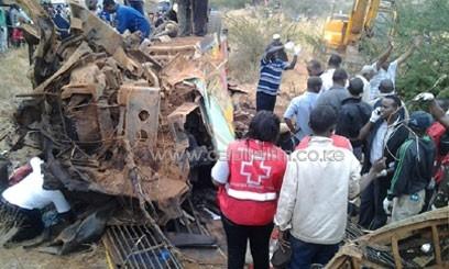 Kenya'da feci kaza: 32 ölü