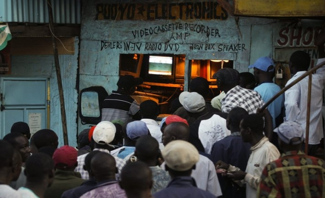 Kenya'da heyecanlı bekleyiş