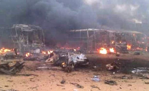Nijerya'nın kuzeyinde feci patlama