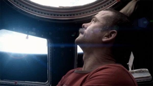 Uzayda ilk klip