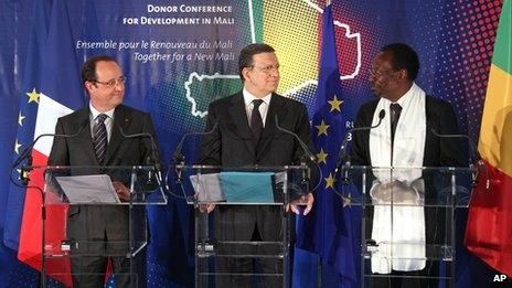 Fransa Mali'ye yine kucak açtı!