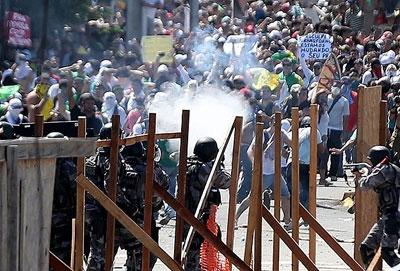 Brezilya eylemlerinde ölü sayısı iki oldu