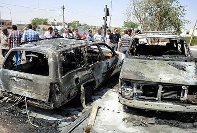 Bağdat'ta patlamalar: 10 ölü