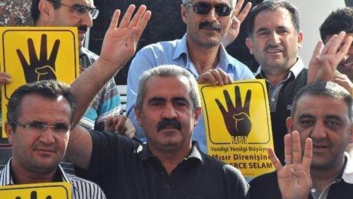Ankara'da Mısır mitingi