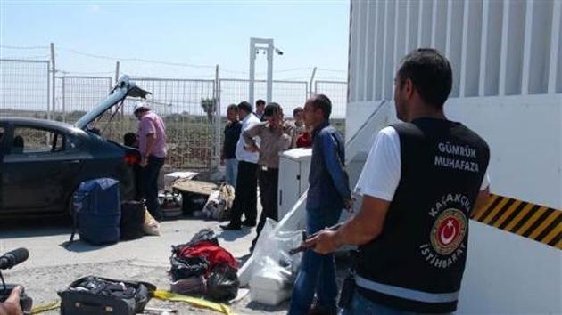 Sınırda 177 kilo patlayıcı madde yakalandı