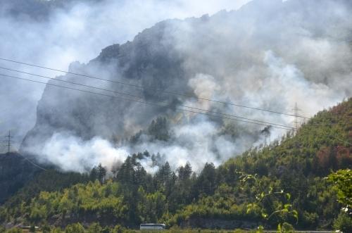 Bosna'daki orman yangınını yağmur söndürdü