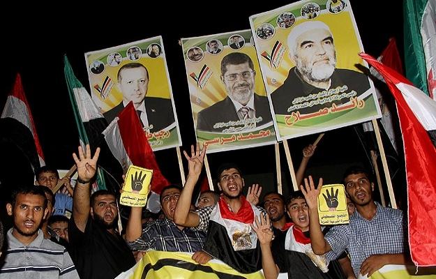 Gazzeliler Erdoğan posterleriyle yürüdü