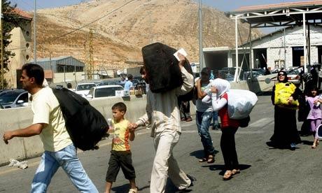Lübnan'a bir günde 14 bin Suriyeli sığındı