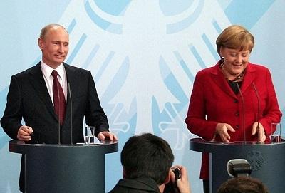 Putin ile Merkel, Suriye'yi görüştü