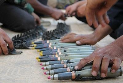 Esad rejimi mühimmat depolarını boşaltıyor