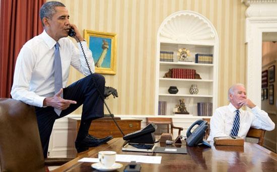 Obama'dan Suriye'ye müdahale pozu