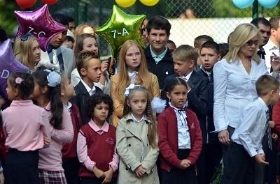 Ukrayna'da ilk okul zili pazar günü çaldı