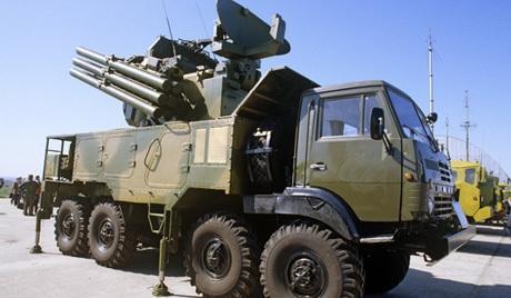 Rus füze sistemleri Suriye'de