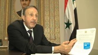 Suriye'den müdahaleye laiklik salvosu
