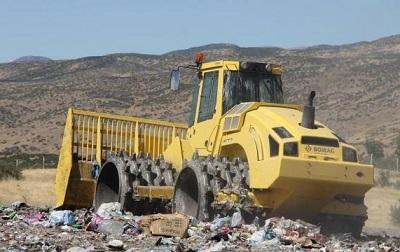 25 yıldır yanan şehir çöplüğü çözüme kavuştu