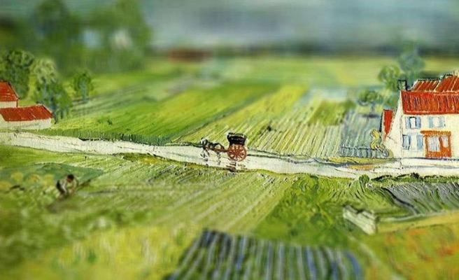Van Gogh'un tabloları photoshoplandı