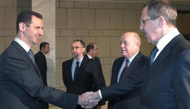 ABD heyeti ve Rus Dışişleri Şam'da