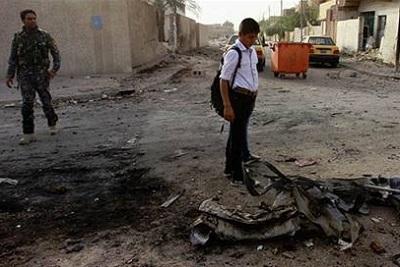 Irak'ta kanlı pazar: 25 ölü