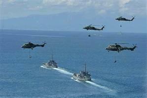 Çin donanmasından büyük tatbikat