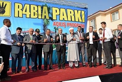 Sakarya'da 'Rabia Parkı' açıldı