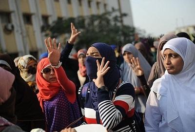 Ezher Üniversitesi'nde 6 gözaltı