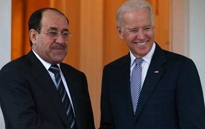 Biden, Irak Başbakanı Maliki ile görüştü