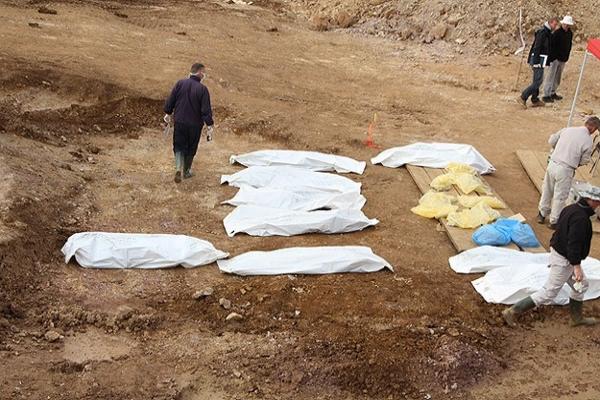 Bosna'nın en büyük toplu mezarında hüzün