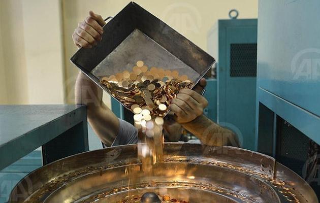 Darphane altın basımına hız verdi