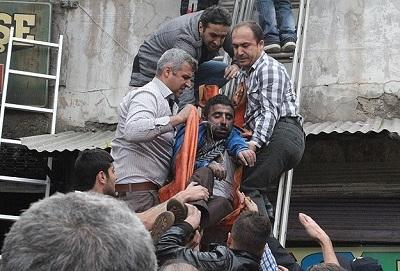Gaziantep'te yangın: 2 ölü, 45 yaralı