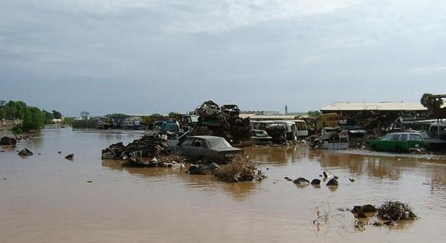 Bağdat'ta şiddetli yağışlarda 6 kişi öldü