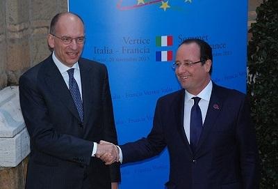 Roma'da İtalya-Fransa Zirvesi