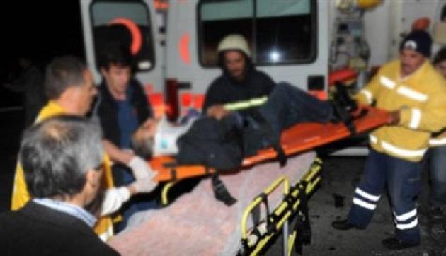 Suriye'de yaralanan Türkmenler Türkiye'de