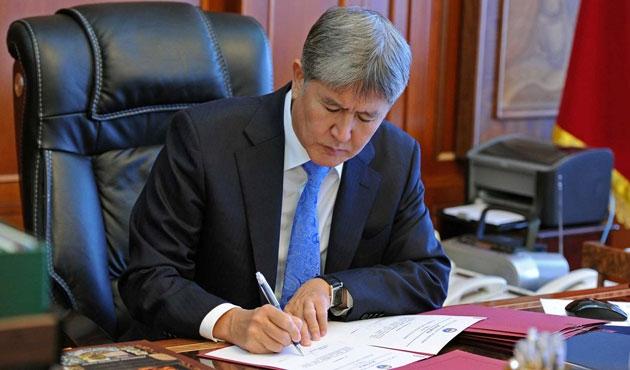 Kırgızistan'da 3500 kişiye af