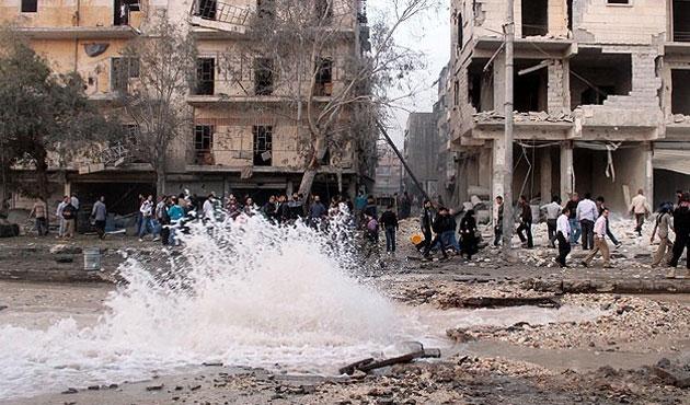 Suriye'de varil bombalı saldırıda 11 kişi öldü