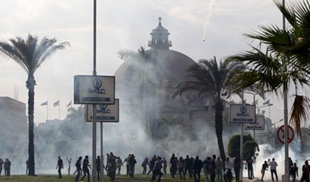 Mısır'da gösterilerde iki kişi öldü
