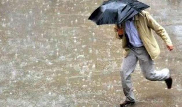 Meteoroloji'den bazı bölgeler için sağanak uyarısı