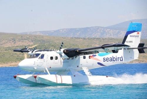 Kocaeli-İstanbul arası deniz uçağı seferleri başladı