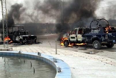 Bağdat bombalarla sarsıldı: 20 ölü