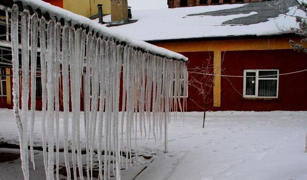 Kars dün gece eksi 22'yi gördü