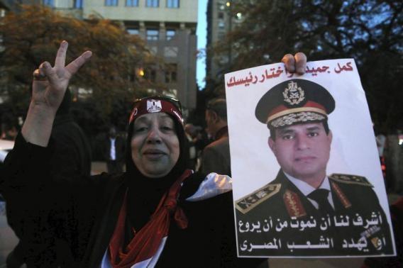 Filistin Fetih Hareketi Sisi'nin adaylığından memnun