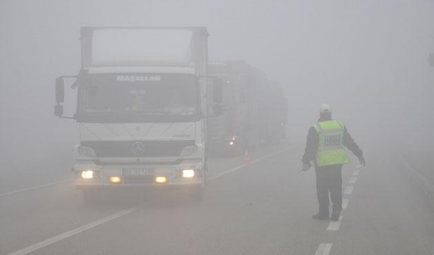Konya'da 20 araç birbirine girdi