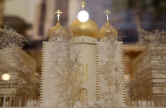 Paris'e Rus Ortodoks kilisesi yapılacak