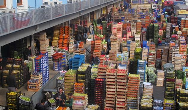 Antalya'dan İstanbul'a cumaya kadar sebze yok