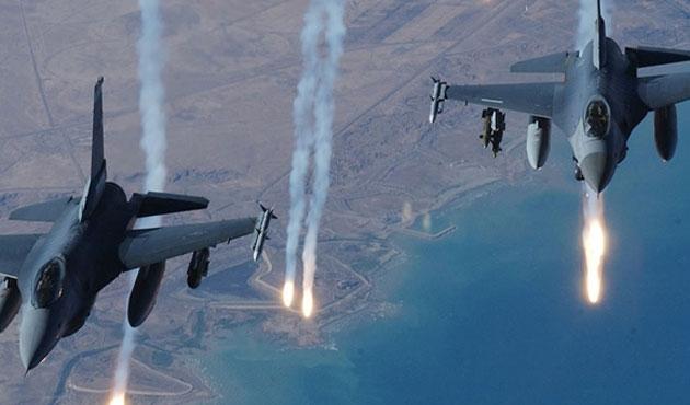 Suriye uçaklarından sınırda taciz