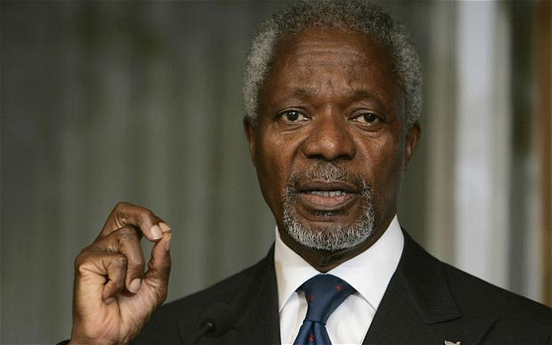 Kofi Annan, İran'da Ruhani ile görüştü