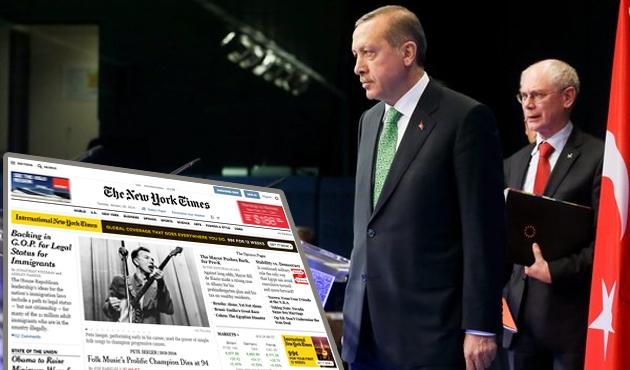 NY Times: Erdoğan tehlikeli olmaya başladı!