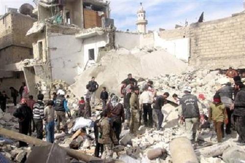 Suriye'de 12 gazeteci ve rapotör öldürüldü