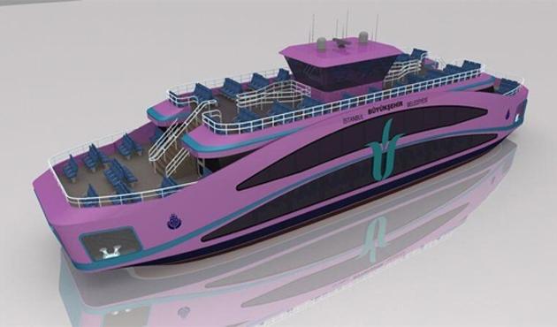 İstanbul şehir hatlarına 10 yeni gemi