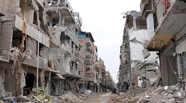 Humus'ta bombalı araçla saldırı: 13 Ölü